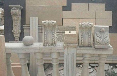 Фигурные элементы из акушинского камня